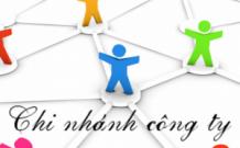 Thành lập chi nhánh công ty tnhh 1
